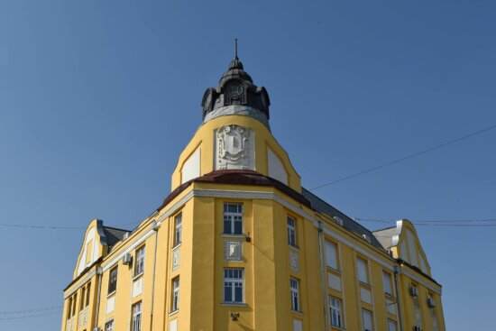 corner, tower, clock, architecture, building, city, outdoors, town