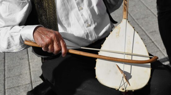 musician, man, people, skill, music, rope, wood, instrument