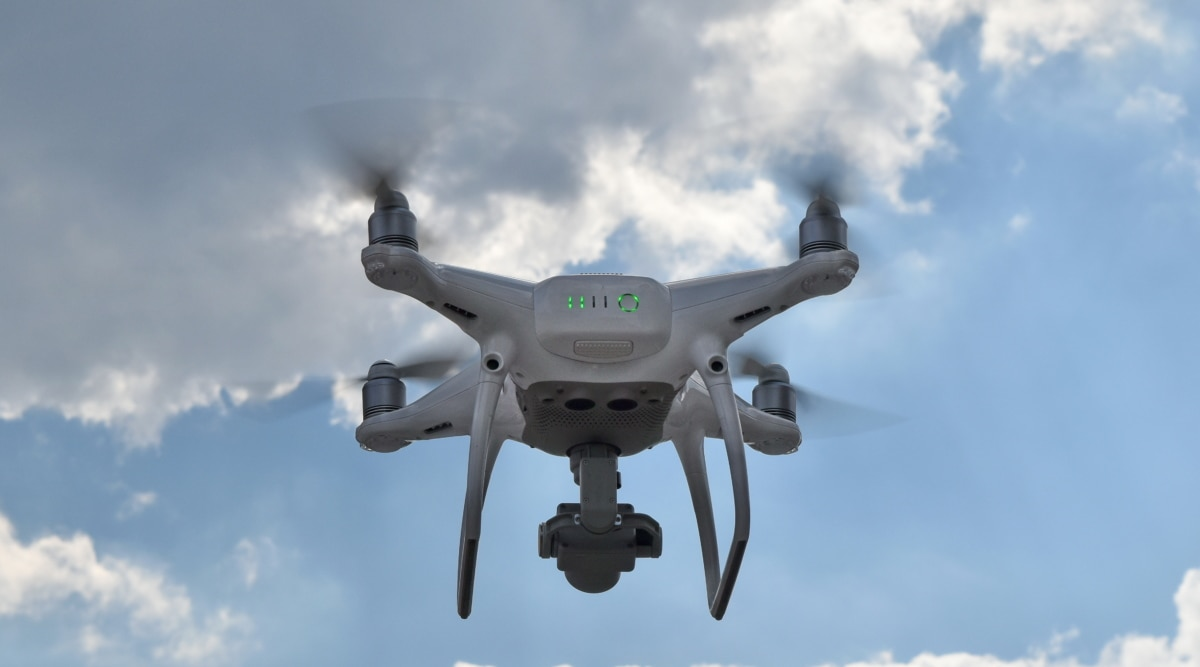 dron, electronics, modern, technology, flight, flying, outdoors, air
