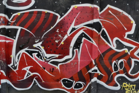 Dekoration, Airbrush, Spray, Graffiti, Vandalismus, Wandbild, Wand, Kunst
