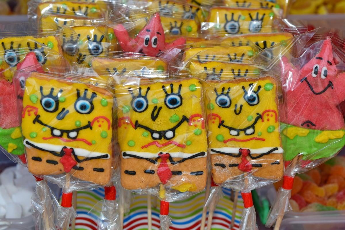 cukrászda, szín, szórakozás, cukorka, ünnepe, Fesztivál, Karnevál, dekoráció