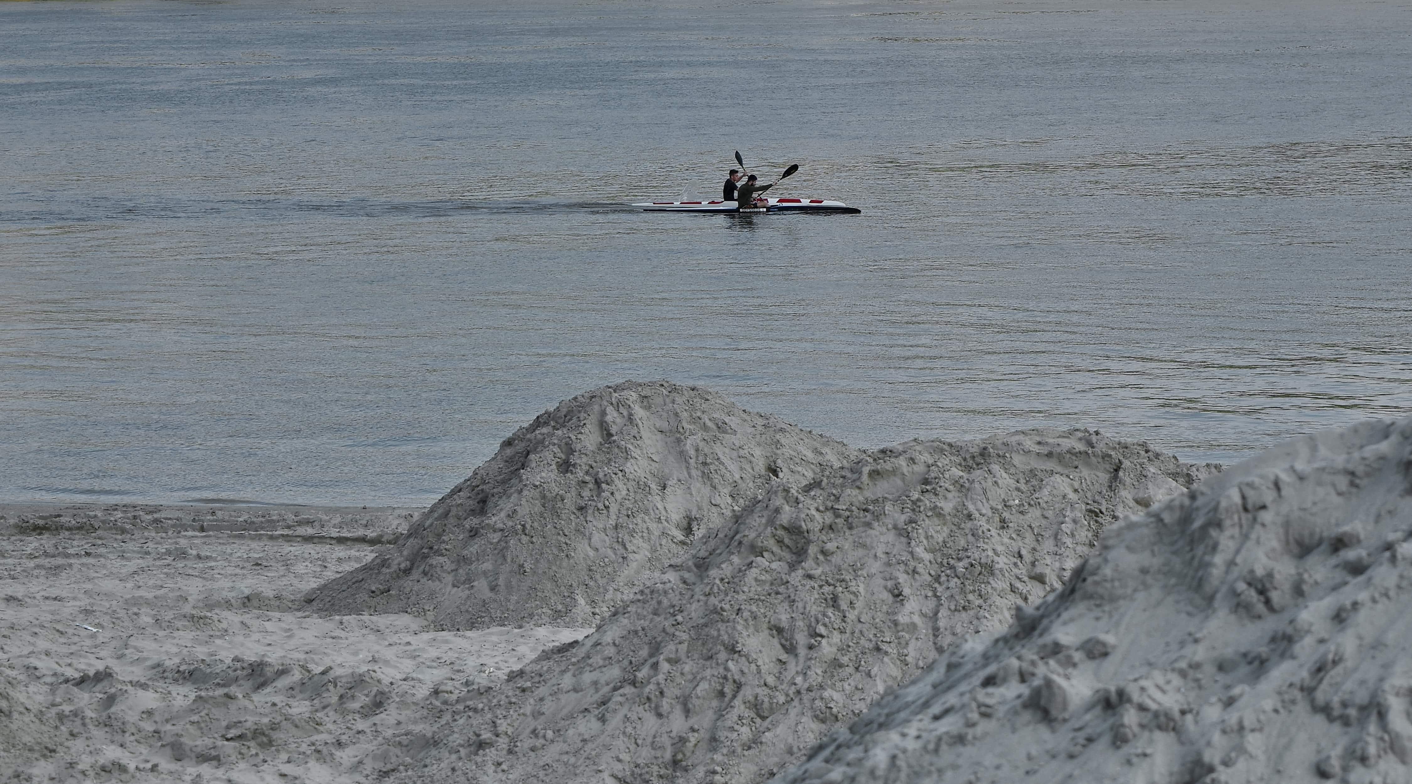 Free picture: water, sea, kayak, boat, canoe, seashore