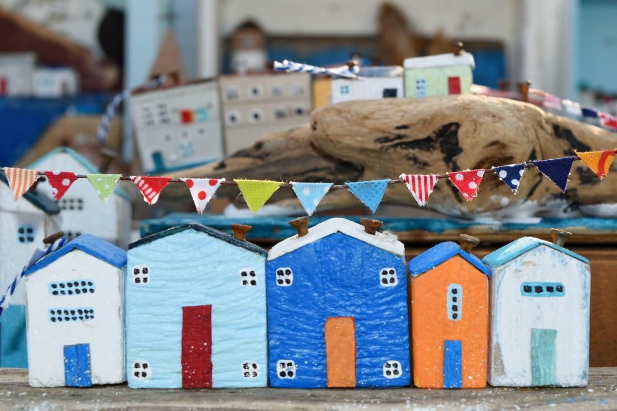Casa, construcción, al aire libre, arquitectura, juguete, luz del día, Ciudad, paisaje