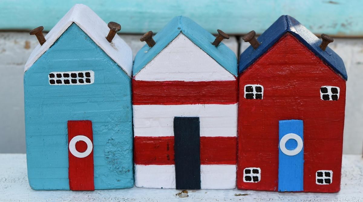 cảnh quan thành phố, làm bằng tay, thu nhỏ, đồ chơi, cửa hàng đồ chơi, cửa, bất động sản, nhà
