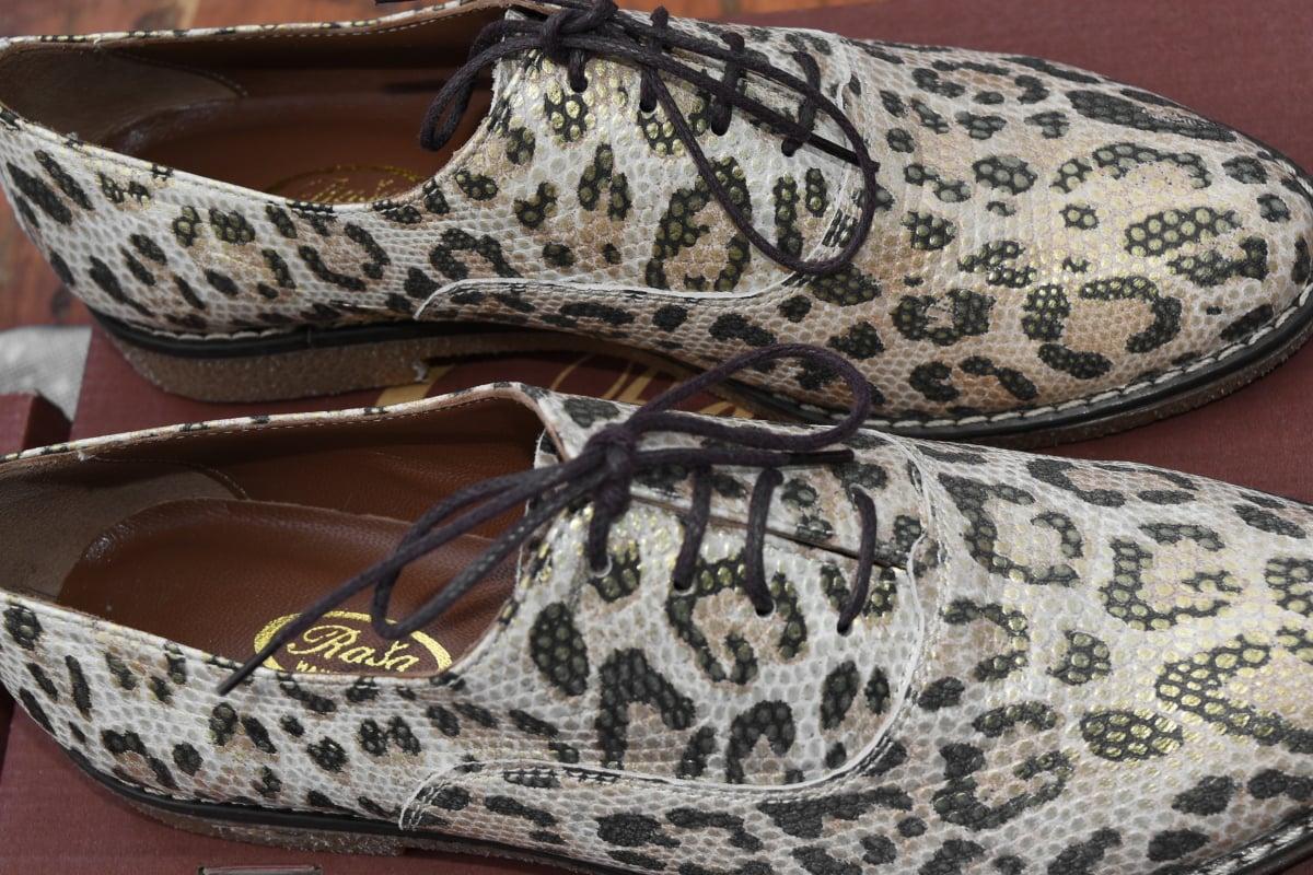 Μόδα, δέρμα, παπούτσι, κορδόνι, φίδι, μοτίβο, υποδήματα, διακόσμηση