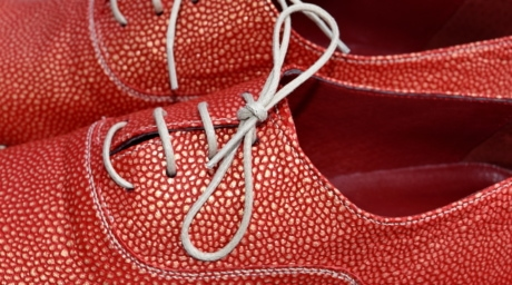 detail, leather, red, shoelace, shoes, fashion, color, shining