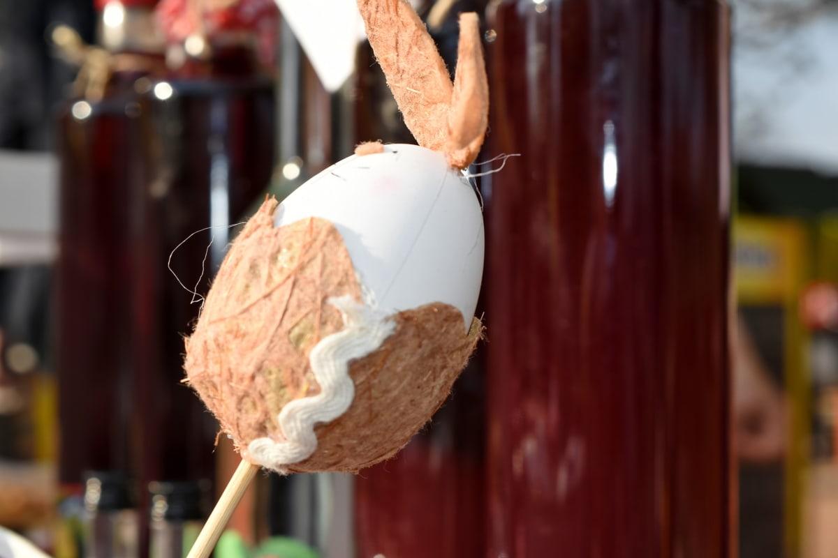 dekoration, påsk, ägg, leksak, traditionella, inomhus, merchandise, firande