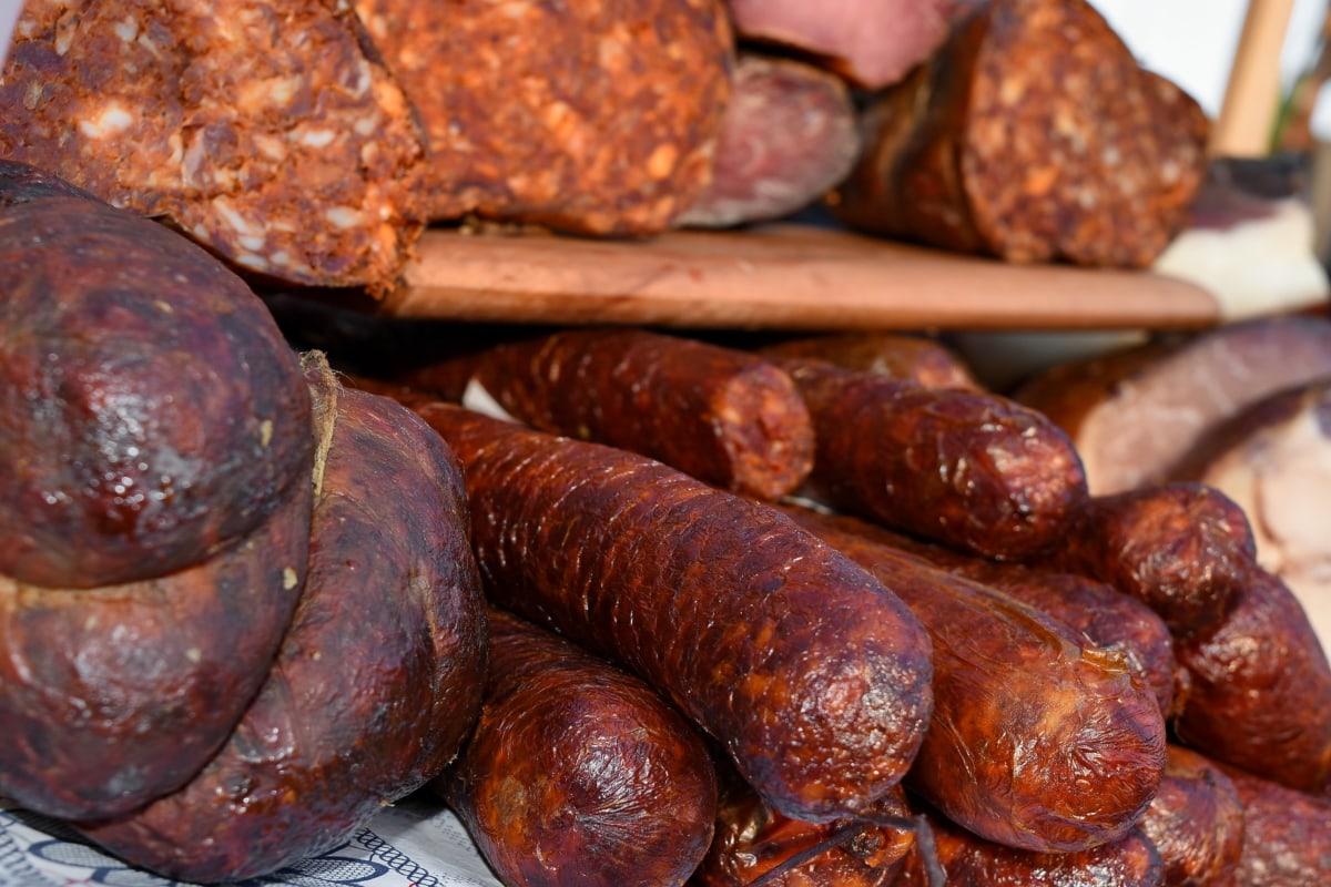 aróma, hovädzie mäso, šunka, ručná práca, organické, Bravčová panenka, jedlá z grilu, jedlo