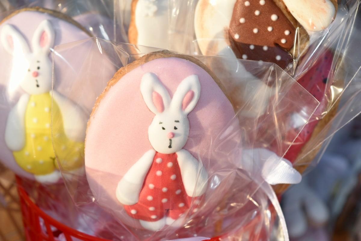 复活节, 餐饮, 糖果, 传统, 装饰, 设计, 庆祝, 颜色