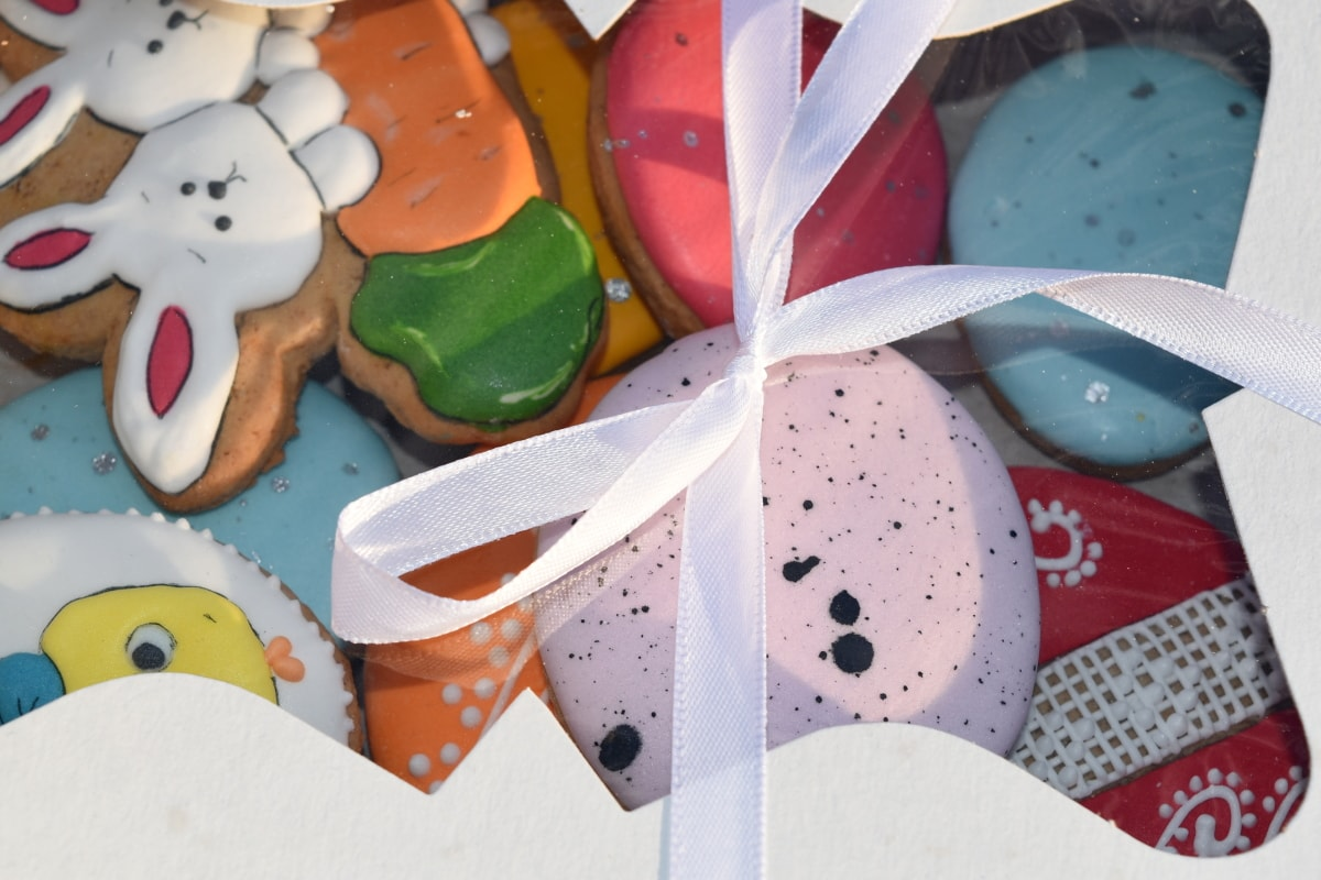 doces, presentes, tradicional, comida, Cor, celebração, diversão, feito à mão