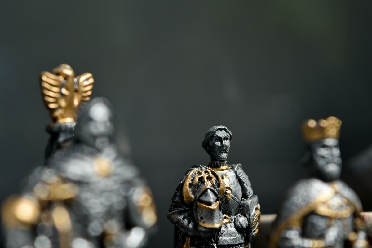 Rycerz, żołnierz, zabawki, mężczyzna, Rzeźba, Figurka, posąg, ludzie