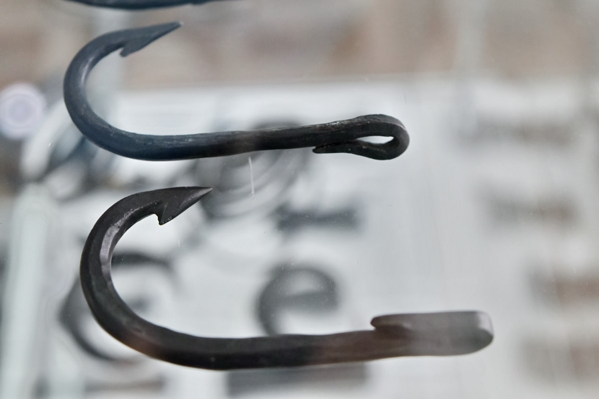 history, medieval, museum, hook, steel, iron, equipment, metallic