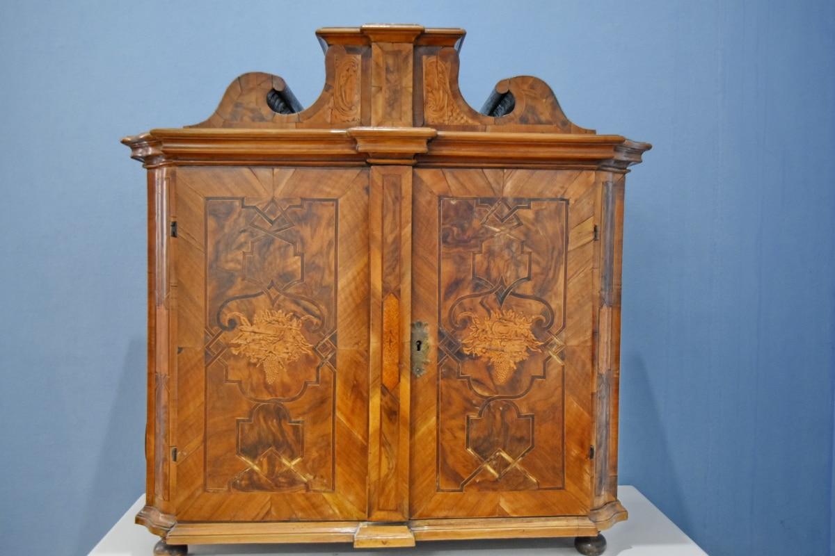 furniture, antique, old, wood, container, interior design, architecture, retro