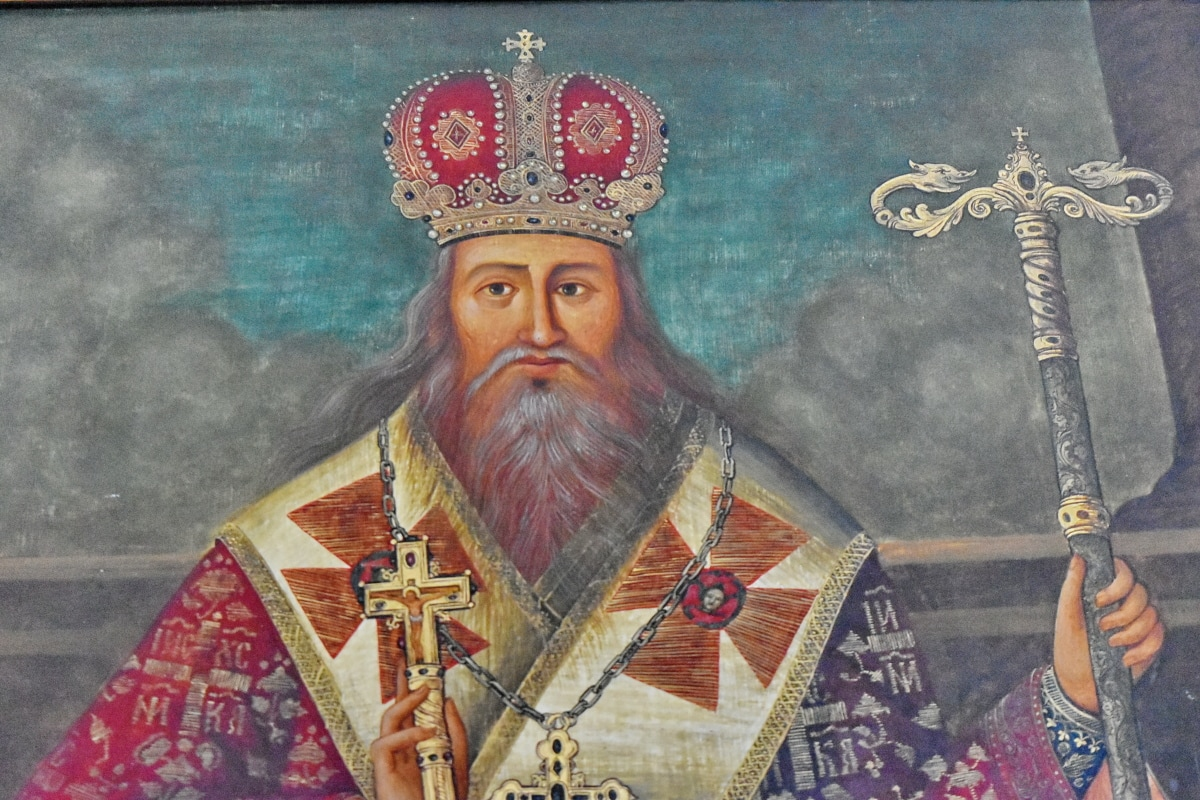 monarch, orthodox, portrait, ruler, religion, painting, people, art