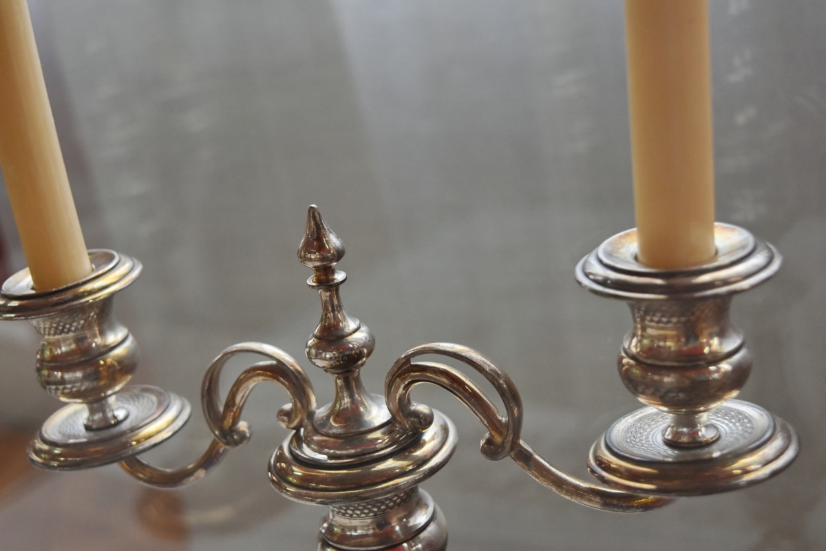antiquity, candles, brass, victory, bronze, wood, still life, luxury