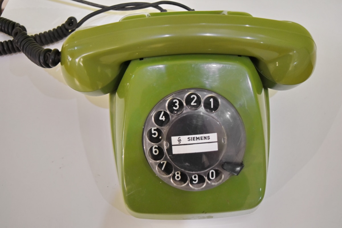 antiquity, greenish yellow, telephone, phone, equipment, technology, connection, classic