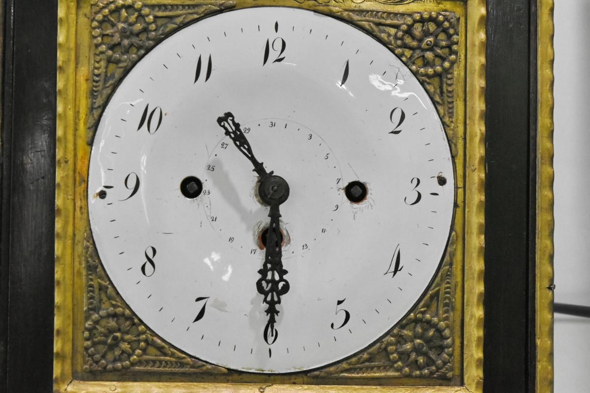 jam analog, arloji, menit, jam, tangan, jam, waktu, nomor