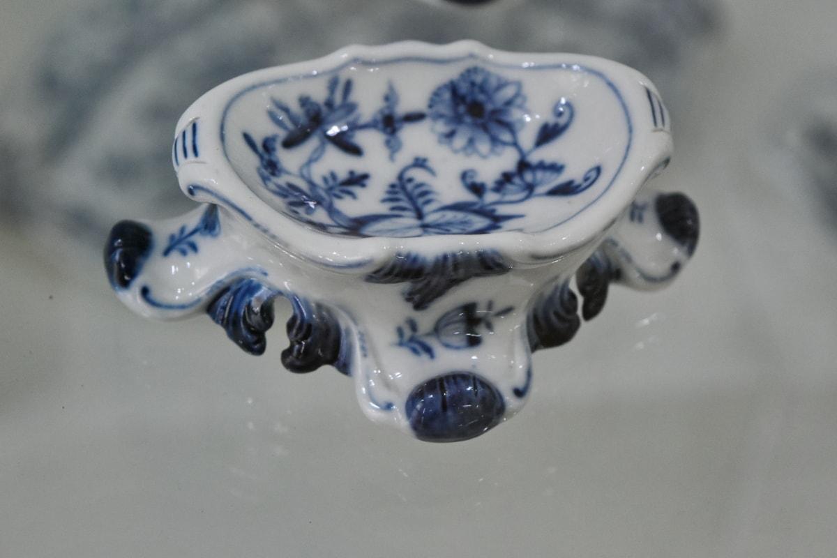 keramika, dekorace, keramika, porcelán, reflexe, stolní nádobí, umění, zátiší