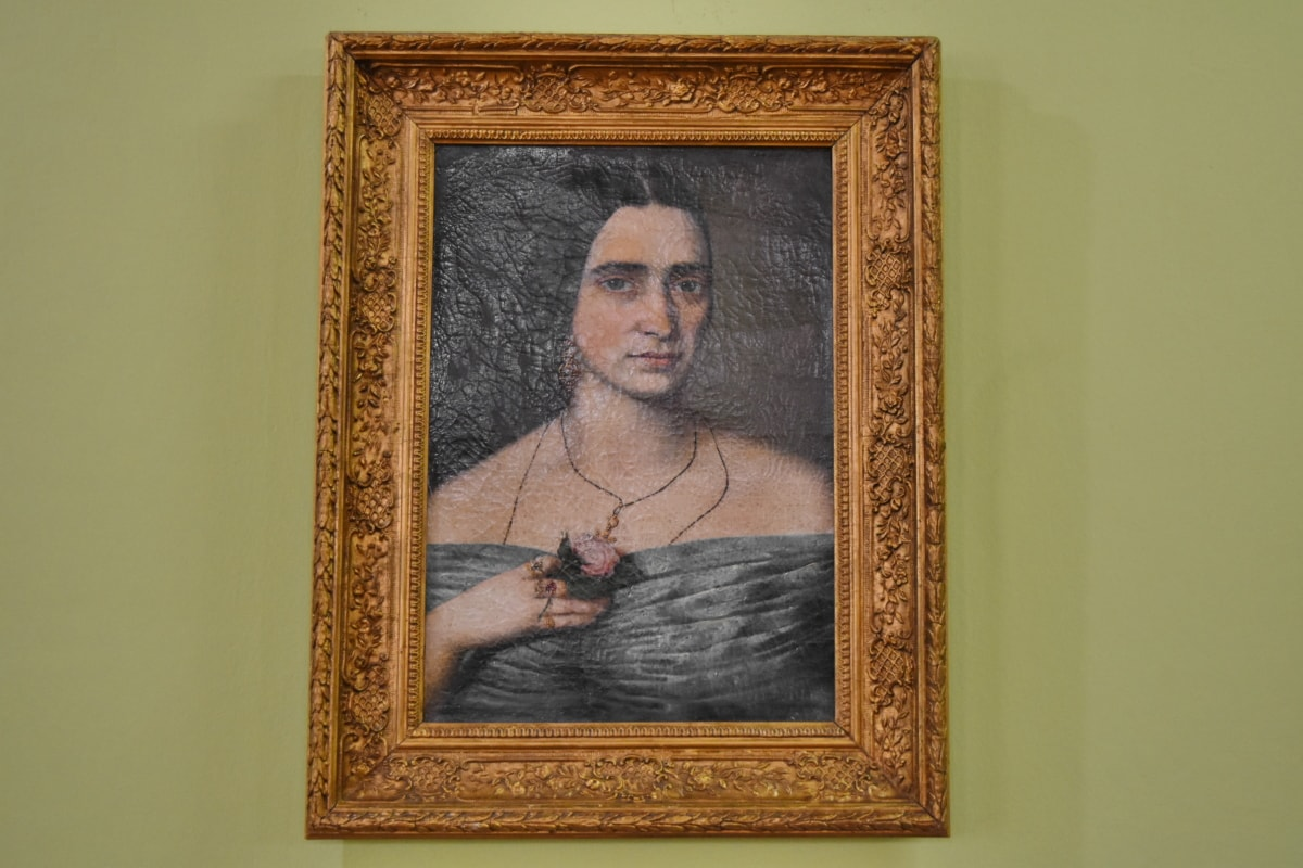 fine arts, museum, painting, art, old, vintage, frame, antique
