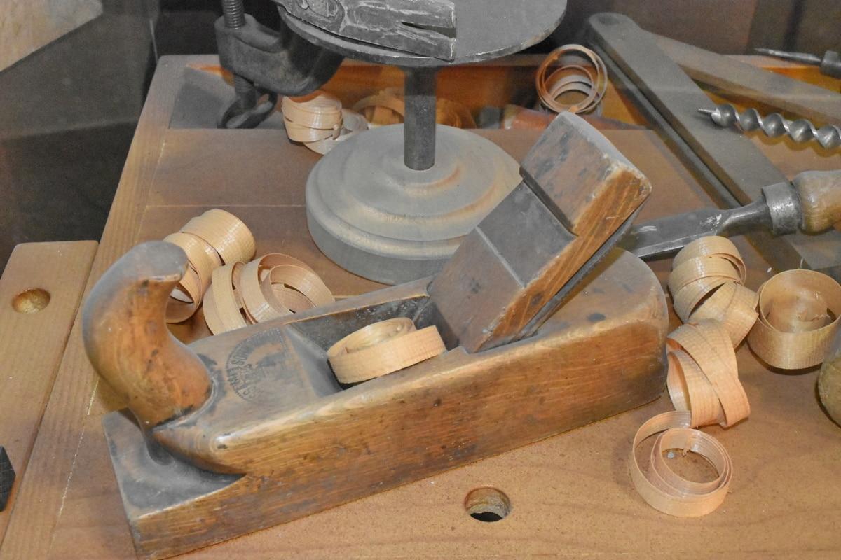 Starověk, tesařství, nástroj ručička, Nástroj, dřevo, ručně vyráběné, řemeslo, dřevěný