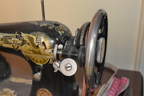 antiquity, history, device, sewing machine, old, antique, vehicle, museum