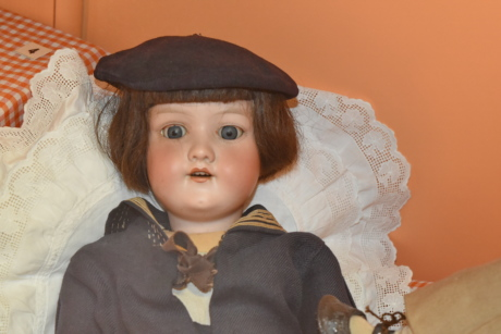 antiquity, doll, history, museum, kid, clothing, hat, child