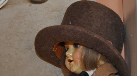 antiquity, doll, toys, hat, covering, clothing, portrait, fashion