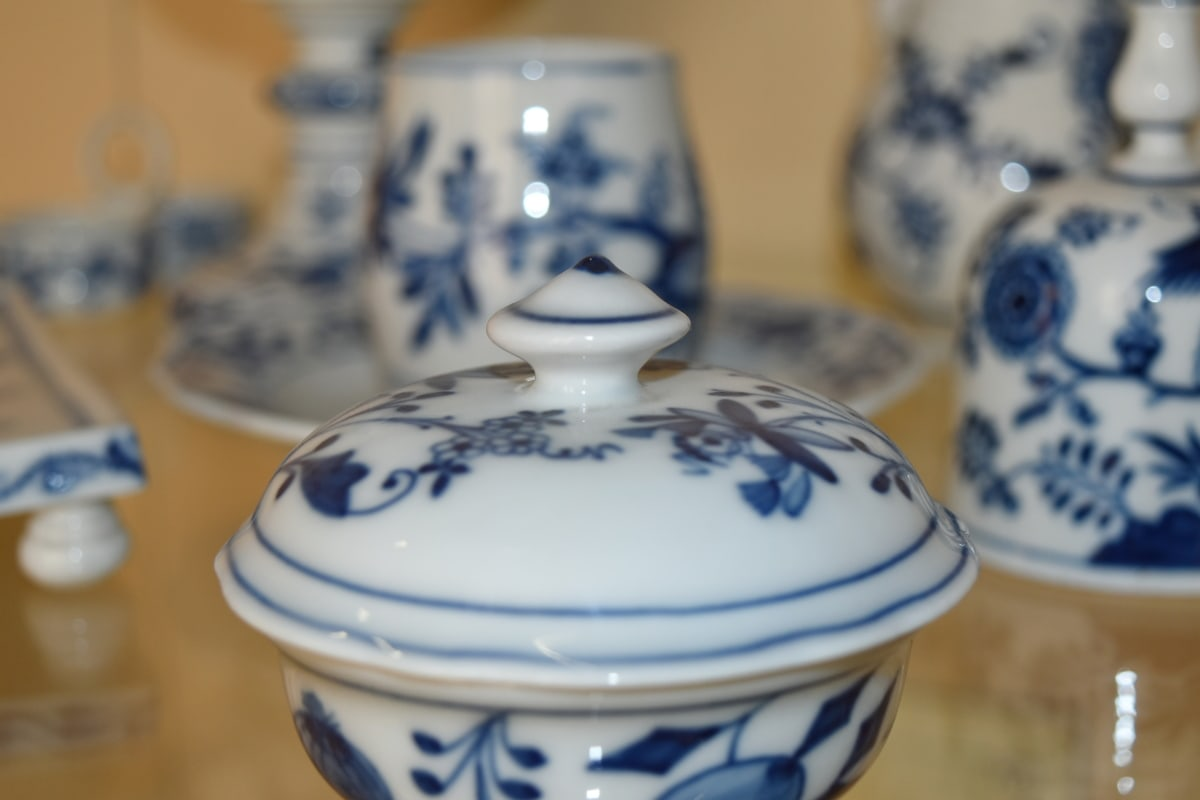 pitcher, porcelain, art, bowl, ceramic, container, cup, decoration