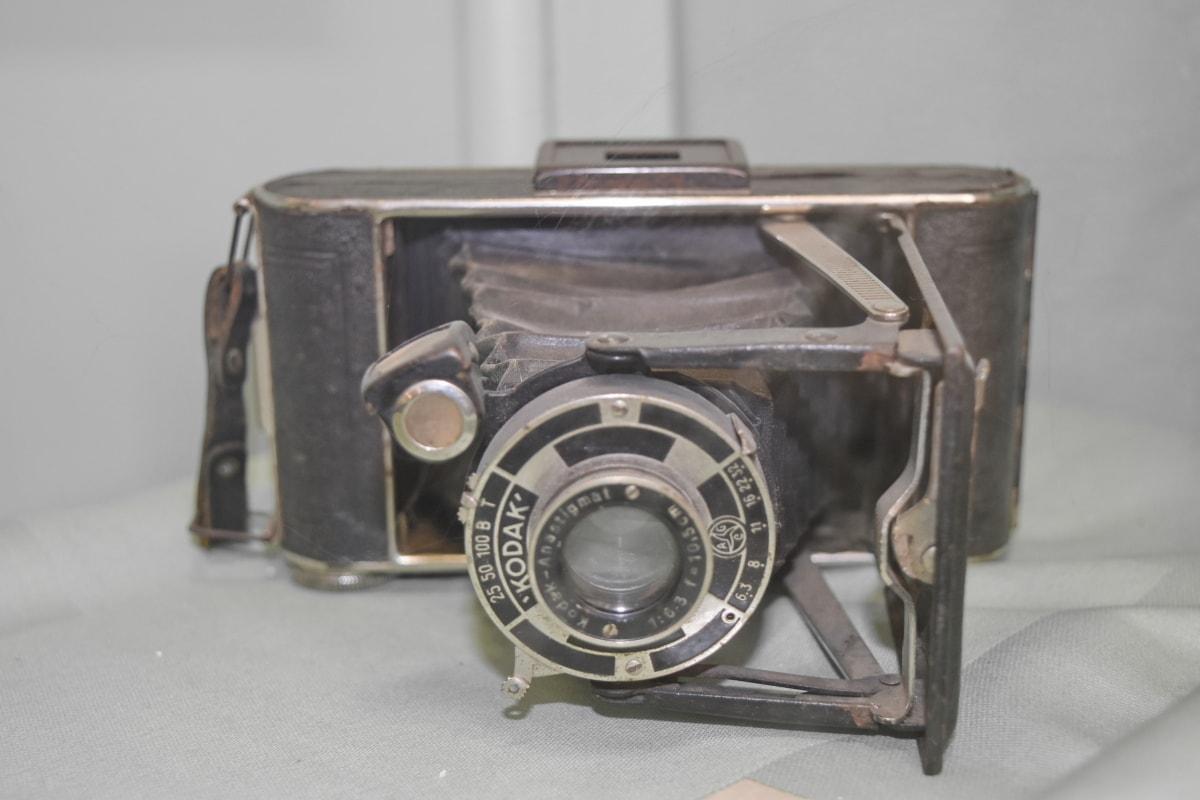 antičko doba, otvor blende, kamera, berba, leća, uređaj, stari, mehanizam