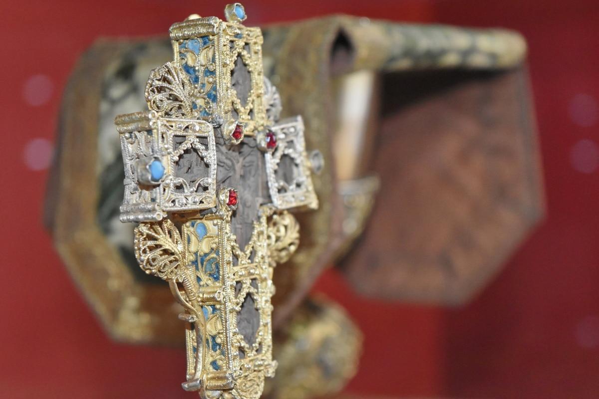 kríž, diamant, zlato, šperky, dekorácie, náboženstvo, umenie, Staroveké
