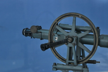 history, museum, telescope, device, wheel, steel, old, iron