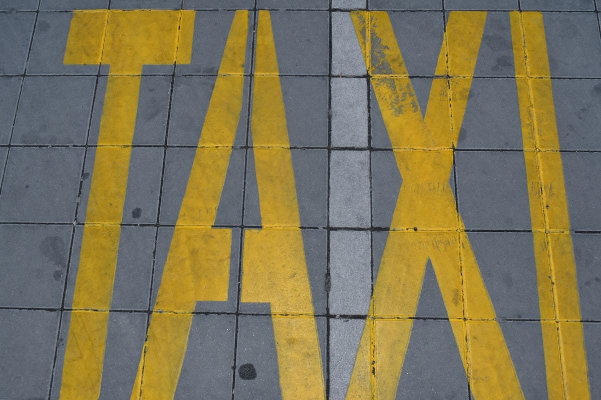 boya, Otopark, işareti, metin, Sarı, kaldırım, Tasarım, doku