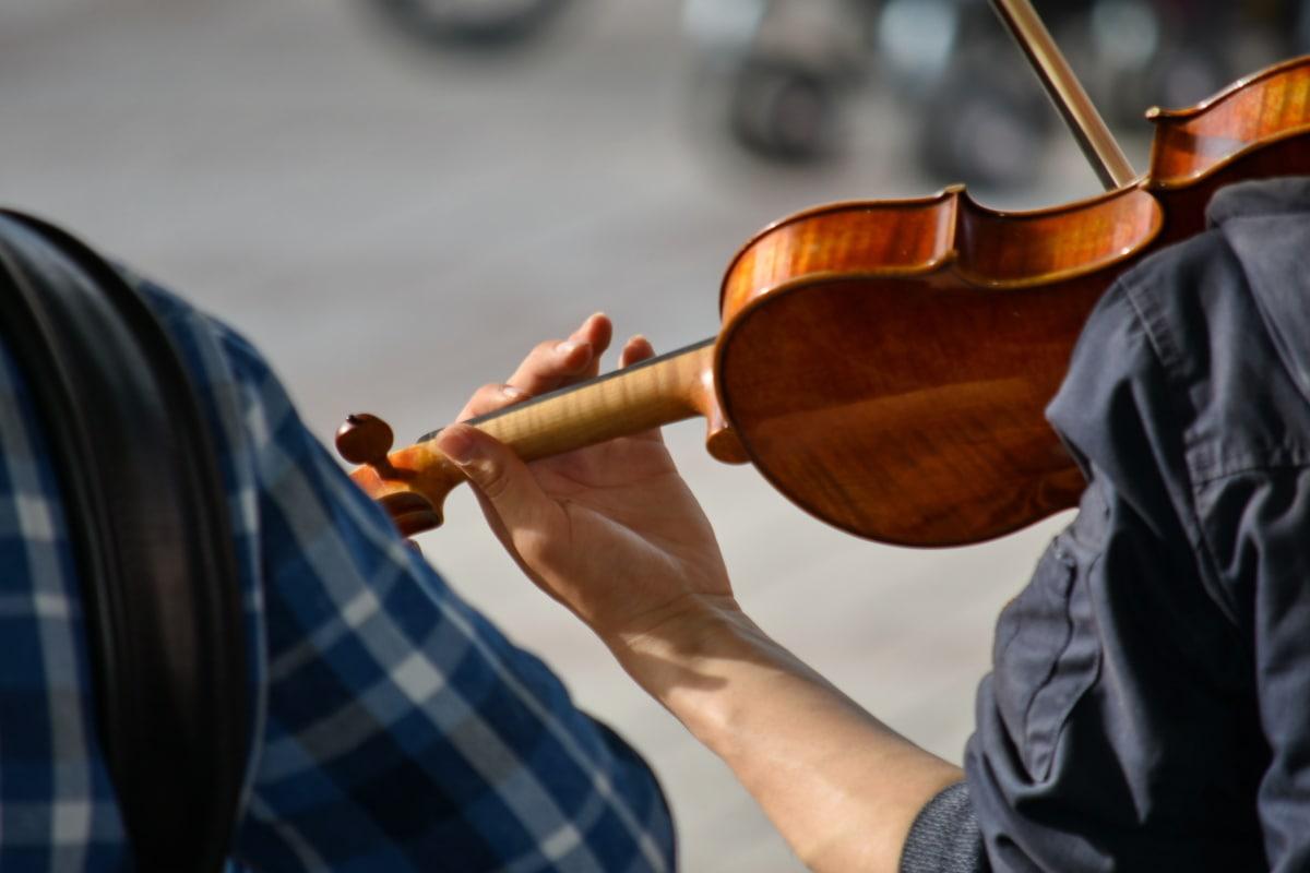 nghệ sĩ, bàn tay, âm nhạc, nhạc sĩ, đường phố, violin, người, người đàn ông, người phụ nữ, nhạc cụ
