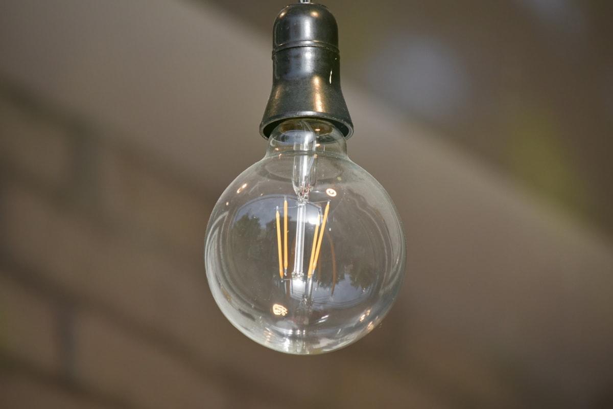 декорация, електрическа крушка, стар стил, стъкло, лампа, натюрморт, отражение, светлина, електричество, закрито