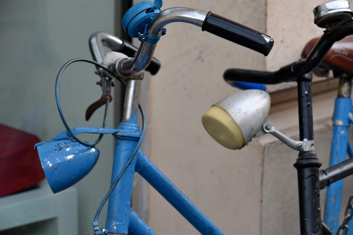 cykel, dekoration, gamle, udendørs, gade, sikkerhed, industri, cykel, udstyr, udendørs