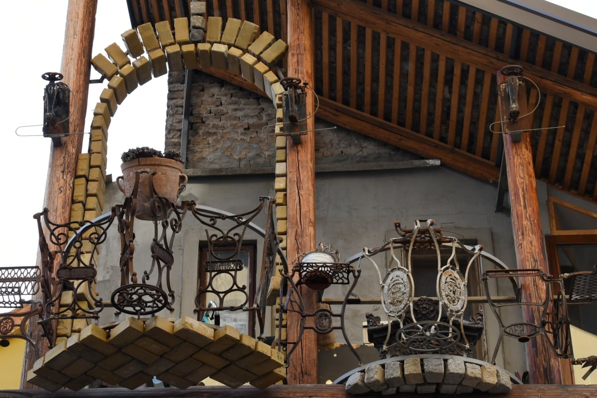 art, fence, handmade, balcony, architecture, old, building, design, traditional, ancient