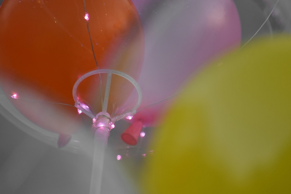 ukrasne, žarulja, balon, zamagliti, abstraktno, boja, svijetle, cvijet, umjetnost, dekoracija
