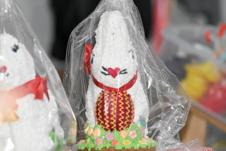 bunny, easter, container, plastic bag, celebration, traditional, decoration, candy, sugar, food