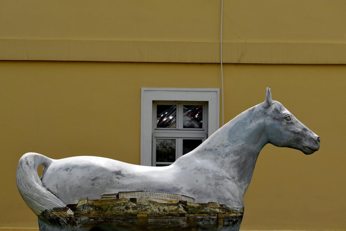 kunst, kroppen, design, hest, skulptur, statuen, natur, kavaleri, dyr, utendørs