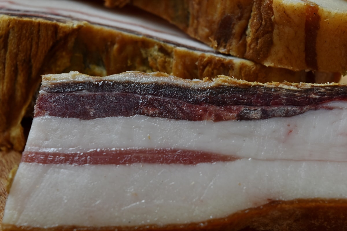 bacon, pork, tasty, delicious, food, meat, slice, ham, breakfast, meal