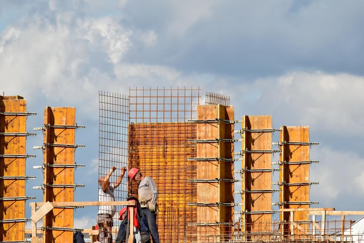 Constitution, travailleur de la construction, lieu de travail, architecture, Création de, urbain, Ville, secteur d'activité, entreprise, à l'extérieur