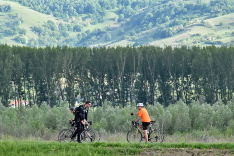 bicycle, cycling, hillside, mountain bike, recreation, sport, slope, outdoors, mountain, ascent