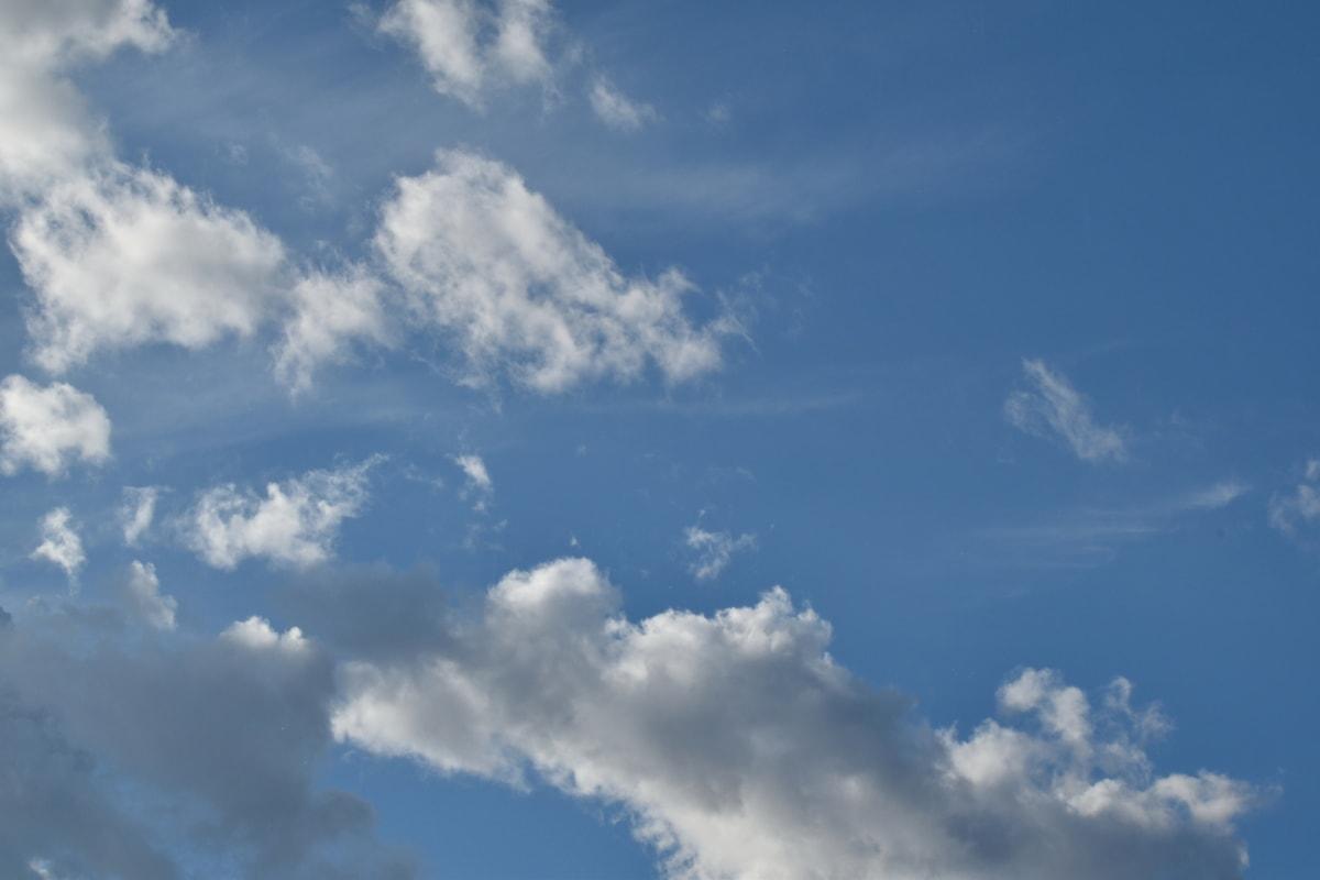 atmosfære, overskyet, dag, skyer, Himlen, vejr, luft, overskyet, sky, natur