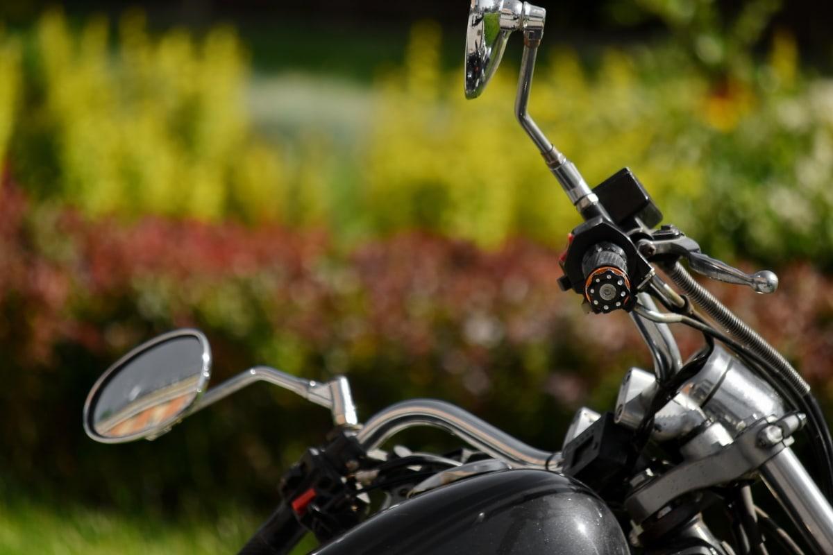 豪华, 镜子, 摩托车, 方向盘, 车辆, 自行车, 轮, 娱乐, 户外活动, 机器
