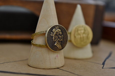 England, princess, queen, rings, wood, indoors, still life, traditional, old, vintage
