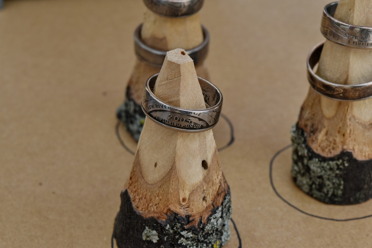 metal, rings, wood, traditional, wooden, still life, handmade, old, decoration, rustic