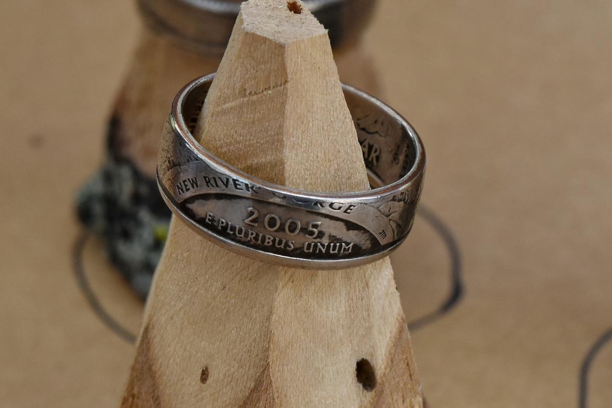 bižuterie, číslo, prsten, rok, dřevo, dřevěný, zátiší, ručně vyráběné, starožitnost, hnědá