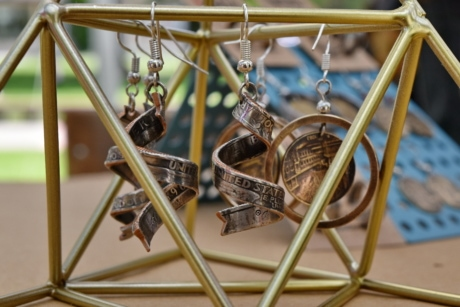 copper, handmade, jewelry, metal, wheel, outdoors, swing, hanging, steel, equipment