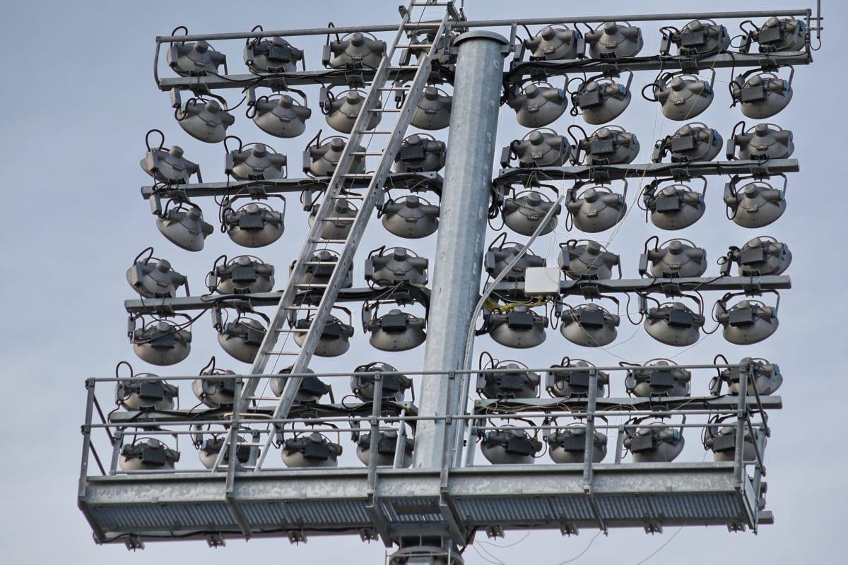 ไฟฟ้า, แผ่นสะท้อนแสง, อุปกรณ์, เทคโนโลยี, เหล็ก, เหล็ก, โคมไฟ, อุตสาหกรรม, กิจกรรมกลางแจ้ง, โลหะ