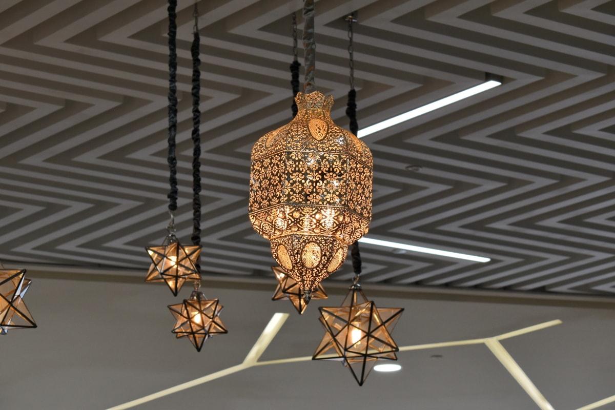 luster, dekoracija, vješanje, svjetlo, unutarnji prostor, na otvorenom, dizajn interijera, umjetnost, Kuća, lampa